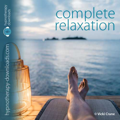 Complete Relaxation hypnosis download from Hypnotherapy-Downloads.com