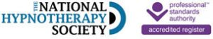 National Hypnotherapy Society Accredited Member